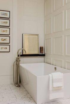 french Bathroom Decor Interior Design Portfolio by Nicole Hogarty Designs - Dering Hall - + bathro . Interior Design Portfolios, Bathroom Interior Design, Interior Livingroom, Decoration Inspiration, Bathroom Inspiration, Bathroom Ideas, Decor Ideas, Decorating Ideas, Decorating Websites