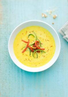 Paprika-Suppe mit Safran - Johann Lafer Rezepte
