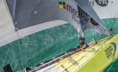 February 07, 2015. Team Vestas Wind In-Port Race: Team Brunel - Ainhoa Sanchez / Volvo Ocean Race
