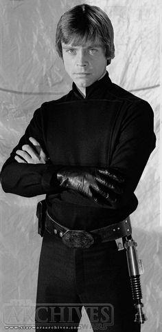 Mark Hamill as Luke Skywalker from Star Wars Return Of The Jedi