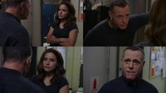Voight: Hey. How's everything going? Lindsay: Good. Voight: You can talk to me about anything. You know that, right? Lindsay: Yeah, I do. Thanks. (4x01)