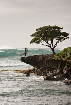 A prime spot on Oahu's North Shore to catch some surf.