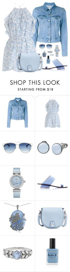 """""""Blue Jumpsuit"""" by designcat-colour ❤ liked on Polyvore featuring Acne Studios, Zimmermann, Christian Dior, Skagen, OMEGA, Abcense, Lord & Taylor, rag & bone, Cathy Waterman and Lauren B. Beauty"""