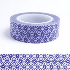 Masking tape étoiles violet