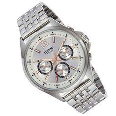 Casio Enticer Mens Watch - Men's style Mens Sport Watches, Watches For Men, Casio Quartz, Mens Watch Brands, Casio Watch, Other Accessories, Quartz Watch, Rolex Watches, Mens Fashion
