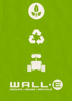 """""""WALL-E"""" 2008. Disney/Pixar's best film yet, and the love story gets me every time. A fun and important sci-fi tale with gorgeous animation to display the filmmaker's amazing imaginations."""