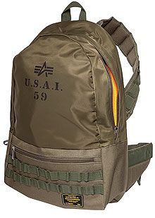 Сумка Flanker Backpack Alpha Industries (оливкова)