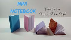 How to make a MINI NOTEBOOK 📖 Tutorial By OrigamiPaperCraft 📖 Do It Your...