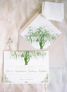 organic themed wedding invitations by Serendipity Beyond Design