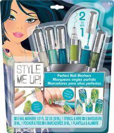 Alex Toys Hair Chalk Pens 5 Pkg Metallic Products Hair Chalk