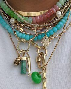 Photo Jewelry, Cute Jewelry, Jewelry Accessories, Fashion Jewelry, Colar Mix, Boho Fashion Indie, Jewelery, Jewelry Necklaces, Bracelets