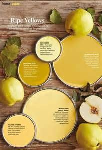 Ripe Yellows Paint Palette Paint color used Sunswept 0834 by Mustard Seed Dandelion Wish Behr Woodlawn Music Room Vaspar Gilded Read Yellow Paint Colors, Interior Paint Colors, Yellow Painting, Paint Colors For Home, Yellow Painted Rooms, Yellow Bedroom Paint, Yellow Rooms, Interior Design, Room Colors