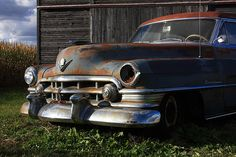 """""""Retired"""" at Fine Art America #cadillac #rusty by Lyle Hatch"""