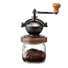 """""""Steampunk"""" Coffee Mill.  Cool gift for someone who loves coffee and appreciates old-school methods. #CoffeeGrinder"""