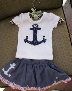 Olivia Paige  Pin up little sailor skirt by OliviaPaigeClothing, $26.00