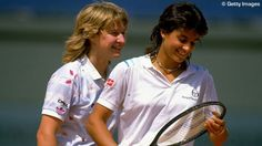 Steffi Graf and Gabriela Sabitini when they were doubles partners. Too bad their singles rivalry put a stop to them playing doubles together. They made a good team, winning a Wimbledon doubles title and were finalists in several French Open Finals. Tennis Doubles, Tennis Match, Play Tennis, Steffi Graff, Tennis Legends, Tennis Workout, Tennis World, Professional Tennis Players, Tennis Players Female