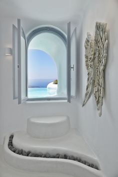 The Infinity Suite - Indoor and Outdoor heated plunge pools with jacuzzi - Dana Villas Santorini Hotel, Firostefani, Santorini, Greece