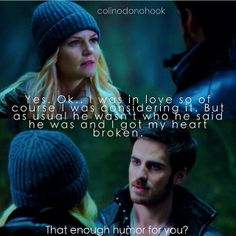 Hook & Emma - Captain Swan