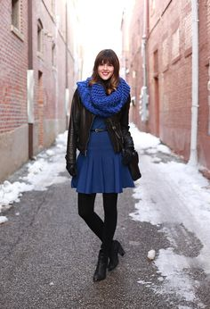 What I Wore | Cold Snap, Jessica Quirk, #cobalt, whatiwore.tumblr.com, #fashionblog