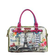 1c4e76c64 Nicole Lee Handbags, Boston Bag, Other Accessories, Yves Saint Laurent,  Designer Handbags