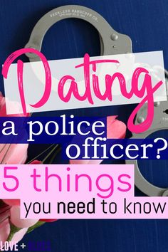 Have you started dating a police officer and you're not really sure what to expect? These are the top 5 things you're going to need to know about your new LEO beau. Police Officer Girlfriend, Police Officer Quotes, Police Officer Wedding, Police Quotes, Police Wife Life, Police Humor, Cops Humor, Wife Humor, Dating A Cop