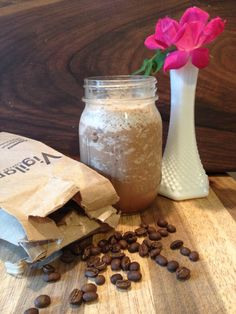 Paleo Mocha Frappuccino Sub stevia for the honey and I'm in
