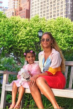 Beyoncé & Blue Ivy in New York August 31st, 2016