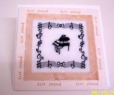 Music Card - Best Friend £2.50