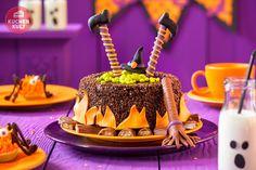 #Hexenkessel-Torte für Halloween, blubb...