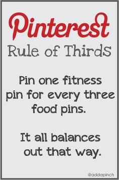 Pinterest Rule of Thirds