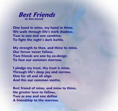 poems | Poetry Greeting Cards - Friendship Poem - Best Friends