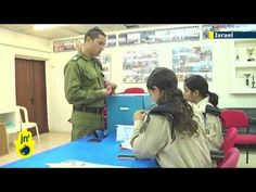 Israel's armed forces have begun casting their ballots in the country's parliamentary election. Voting for the general public will begin Tuesday but before then servicemen and women will have the opportunity to cast vote for members of the next Israeli government at one of 700 specially set up stations.
