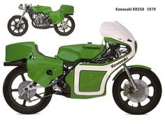 1979 kawasaki kr250 Kawasaki motorcycle