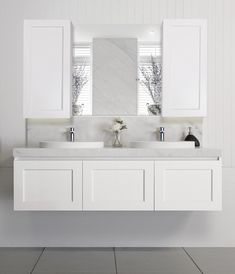London vanity | Hamptons style shaker doors | Architectural Designer Products