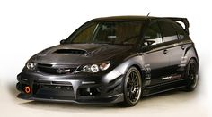 This is the next car i plan on buying after my bugeye is retired - 2008 Varis Subaru STi