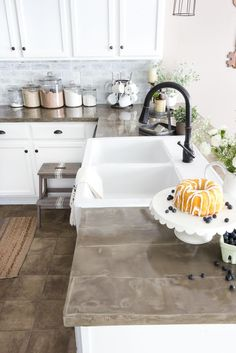 The Good, Bad and Ugly of Concrete Countertops - Bless'er House