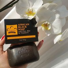 African Black Soap also known as Anago Soap or Alata soap originates from West Africa. Its not a beauty potion whipped up in a skin care lab and even today its created by in a traditional culturally authentic way. Black Skin Care, African Black Soap, West Africa, Skin Care Regimen, Clear Skin, Shea Butter, Aloe, Sunglasses Case, Face Makeup