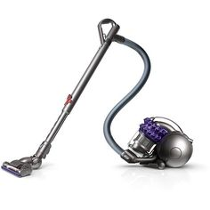 Dyson - Ball Compact Animal Bagless Canister Vacuum - Iron/Purple - Alternate View 11