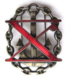 Distintivo d'Onore della X Mas   Militaria Italia RSI