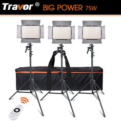 Off] Travor BiColor LED Video Light for video shooting with remote control battery Charger Video Lighting, Best Smartphone, Best Phone, Led, Best Camera, Gopro, Digital Camera, Charger, Remote