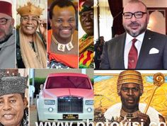 These Are The Richest Kings in Africa and Their Net Worth Private Flights, Newborn Twins, Landmark Hotel, Twin Boys, Economic Development, Royal House, North Africa, Net Worth, Ghana