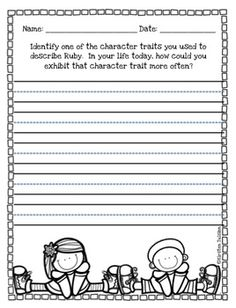Worksheets Ruby Bridges Worksheets 1000 images about january on pinterest black history month free ruby bridges character traits activity 1570573 teaching resources
