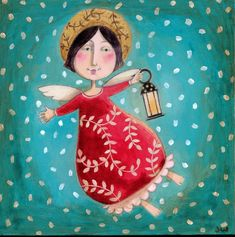 Angel With Lantern
