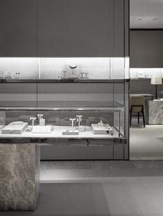 Minimalist modern Jewelry Shop