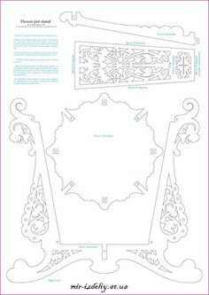 Scroll Saw Patterns, Wood Patterns, Wood Crafts, Diy And Crafts, Paper Crafts, Kirigami, 3d Puzzel, Wood Projects, Projects To Try