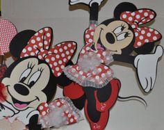 Minnie centerpiece by yoyisfoamworld on Etsy