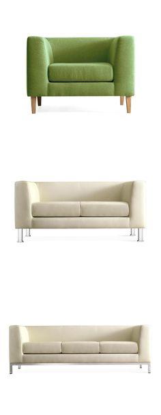 Quinti Club Armchair and Sofa