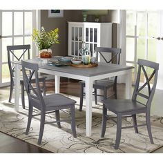 You'll love the Lehigh Acres 5 Piece Dining Set at Wayfair - Great Deals on all Furniture products with Free Shipping on most stuff, even the big stuff.