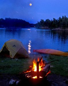 Whether camping, canoeing, kayaking, fishing, or just hiking, Voyageurs National Park, Minnesota, is 218,217.00 acres on four main lakes and has in its history Ojibwe Native Americans and French fur traders called voyageurs; formed by glaciers, this region has tall bluffs, rock gardens, islands, bays, and historic buildings. More suggestions for hiking and camping here: http://www.pinterest.com/zhallock/outside/
