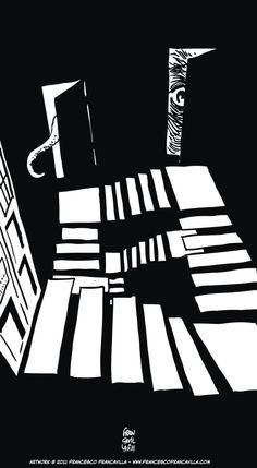 Doctor Who S6 E11, The God Complex by Francesco Francavilla...